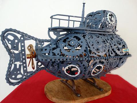 Giulio Ruzzier - Nautilus/varjeno železo; LD Solinar Piran; ZP 2018 - KIPARSTVO; certifikat kakovosti