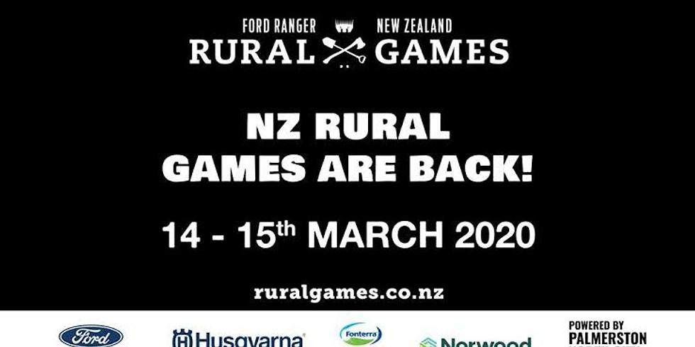 NZ Rural Games – NZ Arb Tree Climbing Event