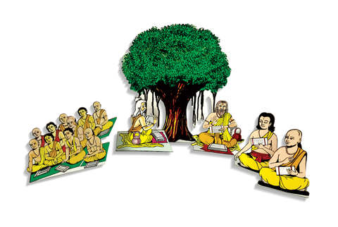 JN631 - Gurupurnima Cut-Out