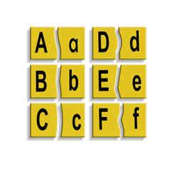J180 - Alphabet Pairing (Capital and Smal