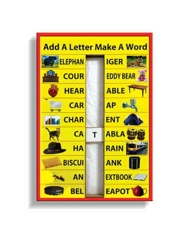 J237C - Add a letter make a word