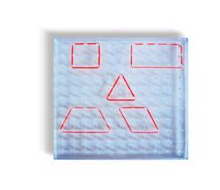 J289 - Plastic Geo Board