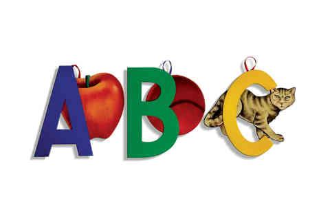 J185 - English Pictorial Alphabet