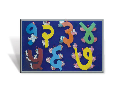 J187A - A Pictorial Marathi Numbers 1 to 10