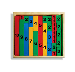 J275A - Number Rods Tray