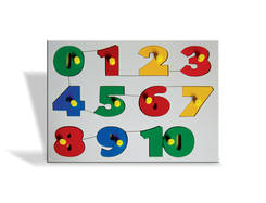 J167 - Number Tray with Knob