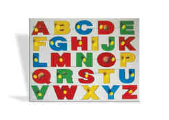 J165 - Alphabet Tray with Knobs