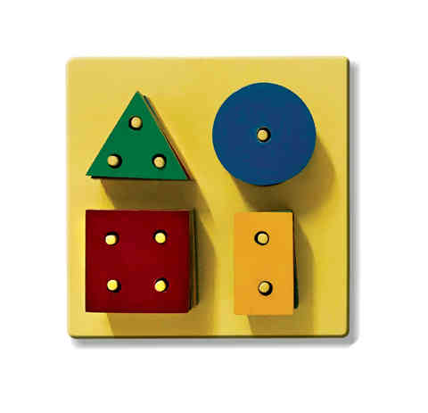 J18 - Shapes Stacking Board