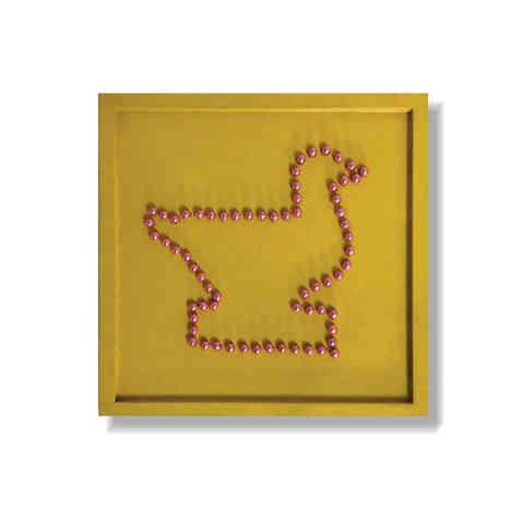 J41 - Beads Mosaic Board