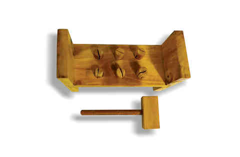 J131 - Wooden Hammering Bench