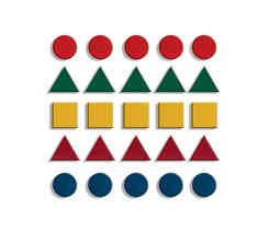 J39 - Wooden Floor Mosaic Set