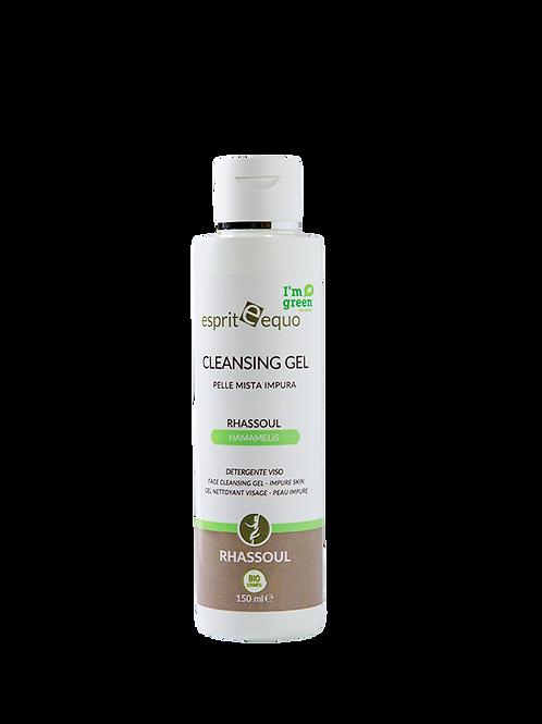 Rhassoul Cleansing Gel Detergente Viso - PELLE IMPURA e MISTA