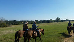 riding some of the beautiful pastures
