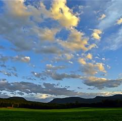 Green Mountain Sky
