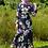 Thumbnail: Black Floral Long Sleeved Maxi Dress
