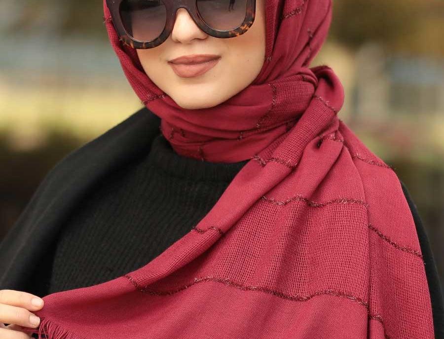 Maroon Hijab