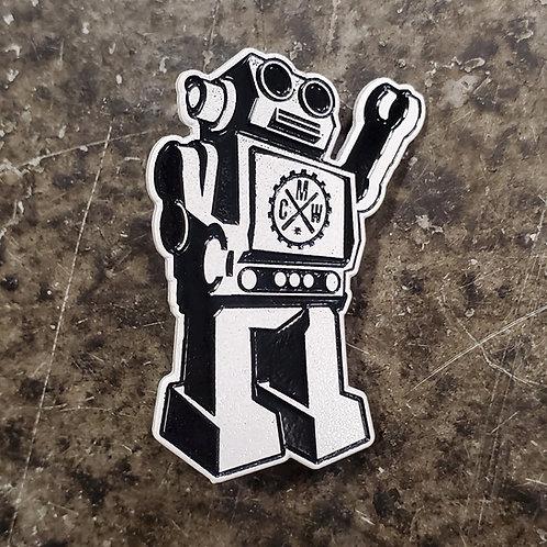 Zero Robot Lapel Pin