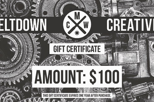 $100 MCW Gift Certificate