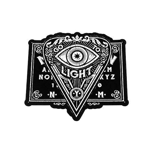 Go to The Light Sticker