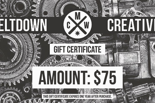 $75 MCW Gift Certificate
