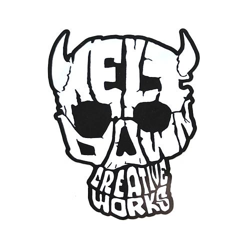 MCW Skull Sticker