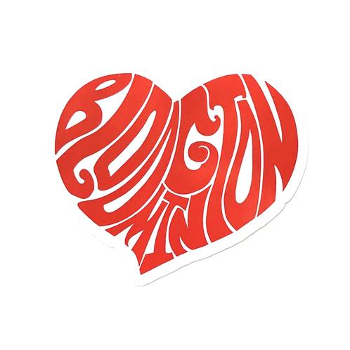 Heart Bloomington Sticker