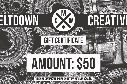 $50 MCW Gift Certificate