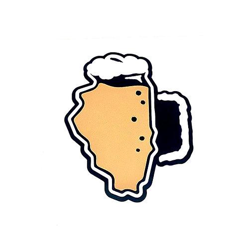 Brew Illinois Sticker