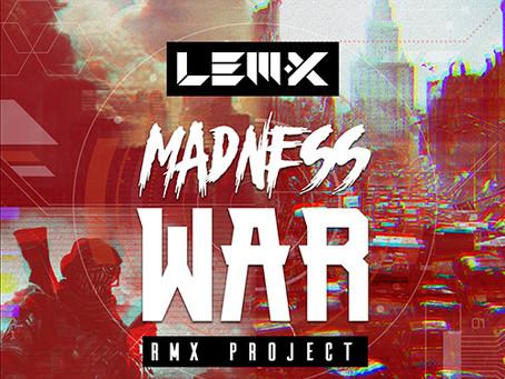 MADNESS WAR RMX PROJECT (HAKCDG014)