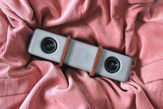 Tragbarer Bluetooth Lautsprecher.