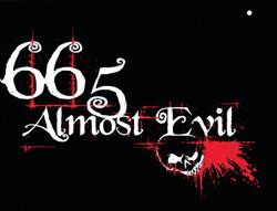 almost evil on black