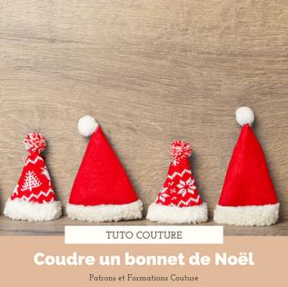Tuto couture : le bonnet de Noël