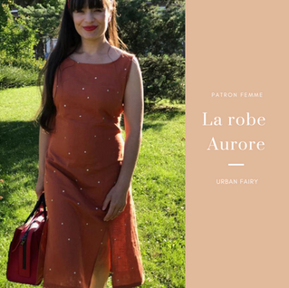 Zoom sur : la robe Aurore !