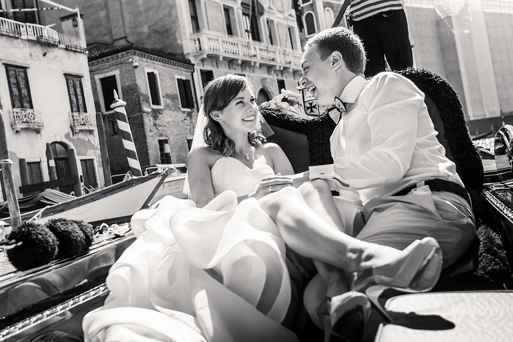 Wedding photosession, Venice