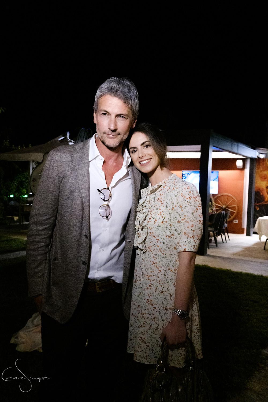 Roberto Farnesi e Lucya Belcastro