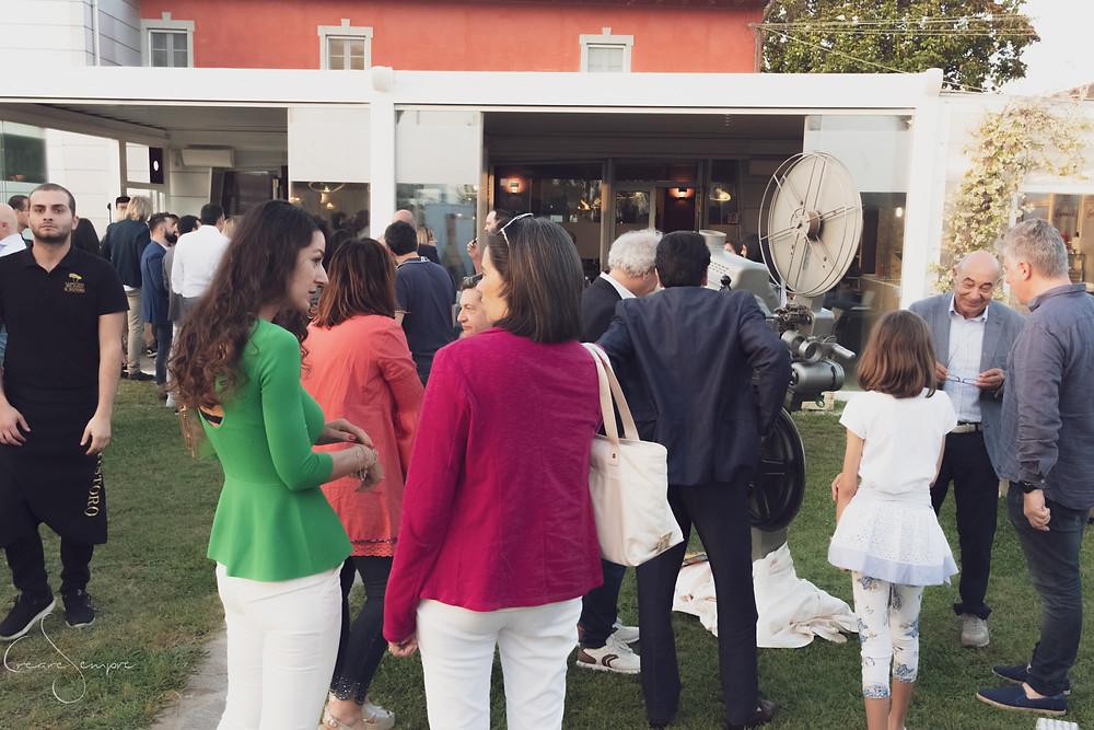 Il ristoro La Bottega del Parco di Roberto Farnesi