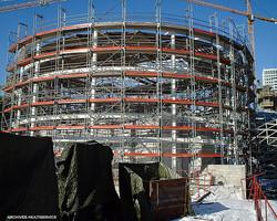 פיגומי PLATTEC בפרויקטים נרחבים באירופה