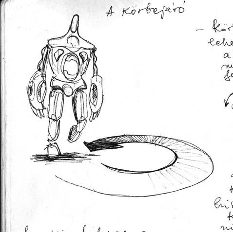 sketchbook \ sketch for Csepel G.E.