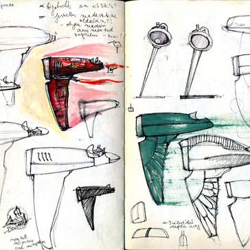 sketchbook \ sketches for Brick one