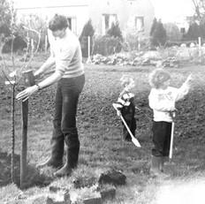 Lianne Polling-Waninge en vader Jan Waninge