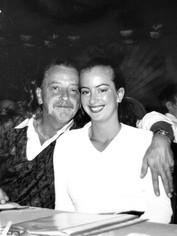Yvonne en vader van der Wal