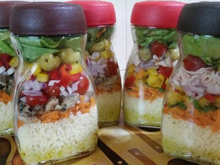 Salada de Pote  (Como fazer)