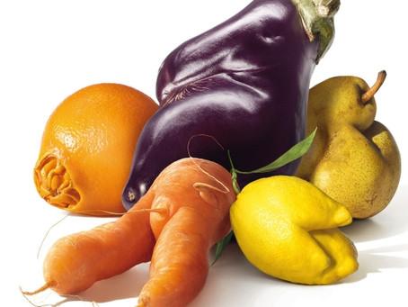 Você deixaria de comer uma fruta só por que ela é feia?