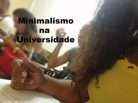Como aplicar o Minimalismo na Faculdade