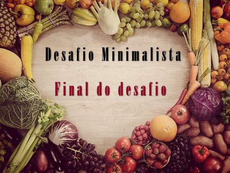 Desafio minimalista 2º etapa (Final)