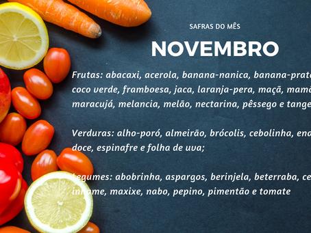 Safra de Novembro | Minimalismo na Alimentação