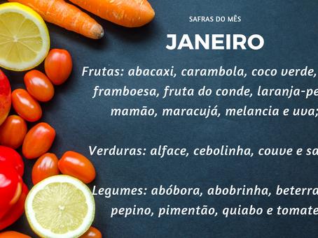 Safra de Janeiro | Minimalismo na Alimentação