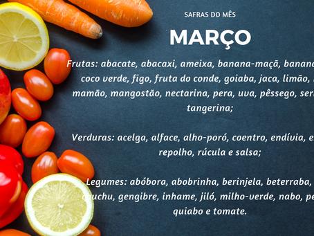 Safra de Março| Minimalismo na Alimentação
