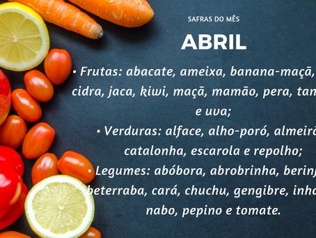 Safra de Abril  Minimalismo na Alimentação