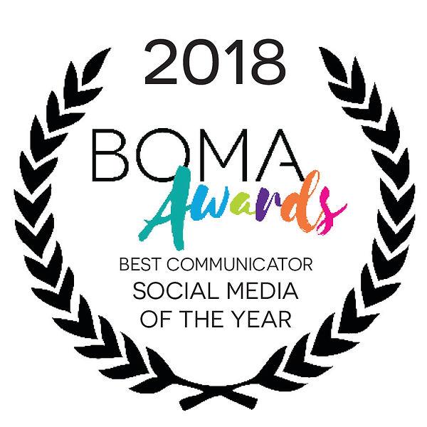 2018 - BEST COMMUNICATOR SOCIAL MEDIA.jp